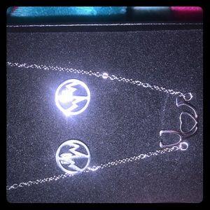 Jewelry - Nurse appreciation earrings and bracelet.